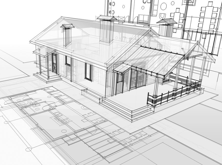 Rénovation et extension de maison à Tours